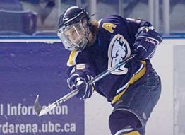 a hockey